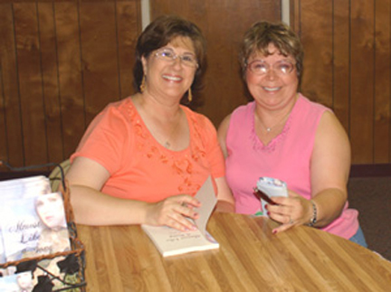 Vickie Barnes and me